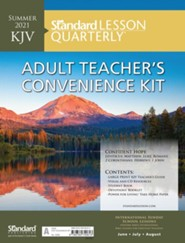 Standard Lesson Quarterly: KJV Adult Teacher's Convenience Kit, Summer 2021