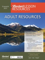 Standard Lesson Quarterly: Adult Resources, Summer 2021
