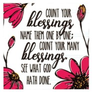 Count Your Blessings Magnet