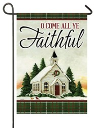 O Come All Ye Faithful Flag, Small