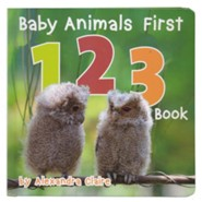 Baby Animals First 123 Book, Boardbook