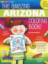 Arizona Coloring Book, Grades PreK-3