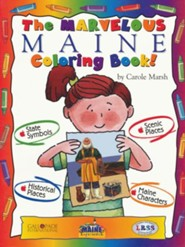 Maine Coloring Book, Grades PreK-3