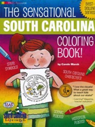 South Carolina Coloring Book, Grades PreK-3