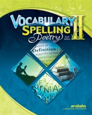 Abeka Spelling, Vocabulary, & Poetry Gr 8