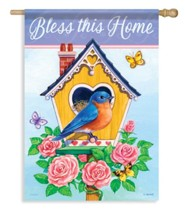 Bless This Home (bluebird), Large Flag