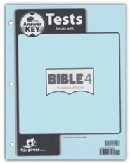 Bible 4 Pathway of Promise Assessments Answer Key