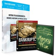 Intro to Economics: Money, History, & Fiscal Faith Pack, 3 Volumes