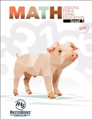 Math Lessons for a Living Education Level 1