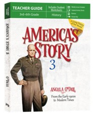 America's Story Volume 3 Teacher Guide