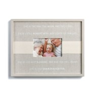 Blessings of a Granddaughter Frame