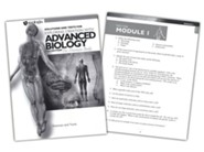 Advanced Biology: The Human Body, Solutions & Test Book, 2nd Edition