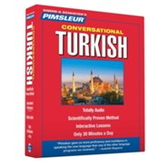 Conversational Turkish 16 Lessons, 8 CDS