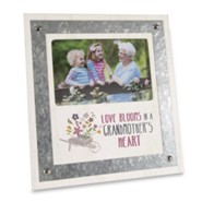 Love Blooms in a Grandmother's Heart, Picture Frame
