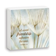 A Sweet Friendship, Box Plaque