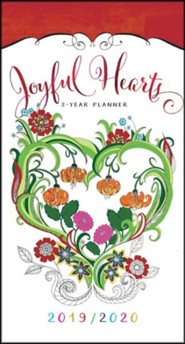 2019/2020 Joyful Hearts - 2-Year Pocket Planner
