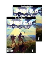 Bible 4 Pathway of Promise Teacher's Edition (2 Volumes)