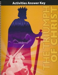 Bible 9 Triumph of Christ Activities Book Answer Key