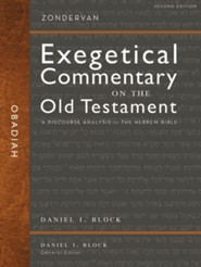 Obadiah: Zondervan Exegetical Commentary on the Old Testament [ZECOT]