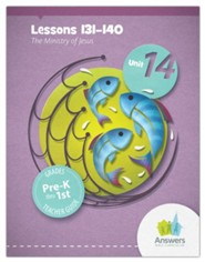 Answers Bible Curriculum PreK-1 Unit 14 Teacher Guide (2nd Edition)