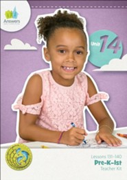 Answers Bible Curriculum PreK-1 Unit 14 Teacher Kit (2nd Edition)