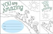 Color Me! You Are Amazing Recognition Awards &  Bookmarks (Pack of 30)