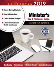 Zondervan's 2019 Minister's Tax and Financial Guide