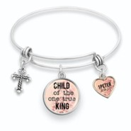 Child of the One True King Bangle Bracelet