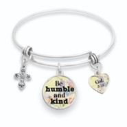 Be Humble and Kind Bangle Bracelet