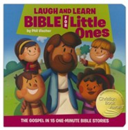 Laugh and Learn Bible for Little Ones, boardbook