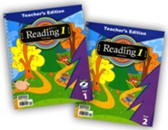 BJU Press Reading 1 Teacher's Edition (2 Volumes, CD, & Reading Assessment), 4th Edition