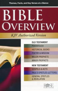 Bible Overview [Rose Publishing]: Rose Staff: 9781596365698