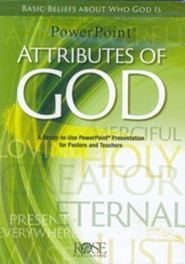Attributes of God: PowerPoint CD-ROM