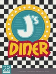 J's Diner Children's Church Leader's Guide  Elementary