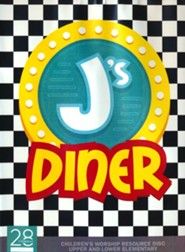 J's Diner Children's Church Resource Disc