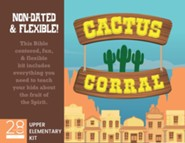 Cactus Corral Upper Elementary Kit Lessons on the Fruit of the Spirit from Acts