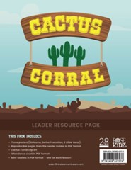 Cactus Corral Leader Resource Pack Lessons on the Fruit of the Spirit from Acts