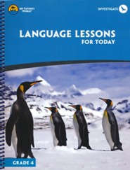 Language Lessons for Today Gr 4