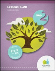 Answers Bible Curriculum PreK-1 Unit 2 Teacher Guide (2nd Edition)