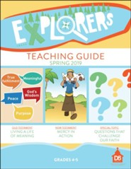 D6: Explorers Extra Teaching Guide, Spring 2019