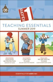 D6: Square 1 Teaching Essentials for Ages 2 & 3, Summer 2020