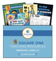 D6: Square 1 Teaching Essentials for Ages 2 & 3, Fall 2019