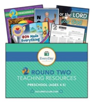 D6: Round 2 Teaching Essentials for Ages 4 & 5 (KJV), Fall 2019
