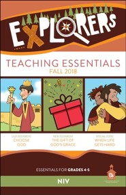 D6: Explorers Teaching Essentials (NIV), Fall 2018