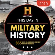 2019 History Channel This Day in Military History Boxed Calendar