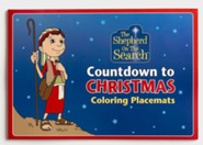 Shepherd On The Search, Countdown to Christmas --Coloring Place Mats, pack of 25