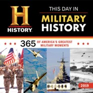 2019 History Channel This Day in Military History Wall Calendar