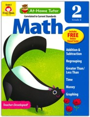 At-Home Tutor: Math, Grade 2