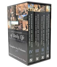 Dictionary of Daily Life in Biblical & Post-Biblical Antiquity - 4 volume boxed set