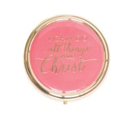 I Can Do all Things Through Christ, Pill Box